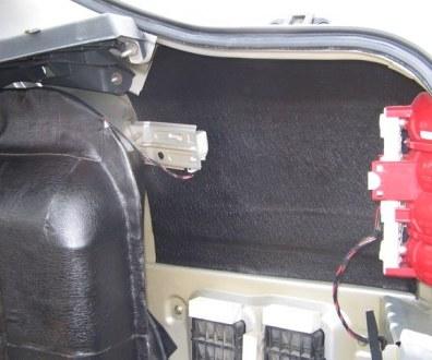 Tlumení kufru vibraflexem Škoda Octavia 15