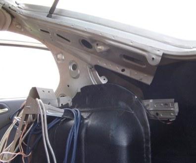 Tlumení kufru vibraflexem Škoda Octavia 20