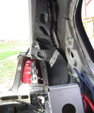 Tlumení kufru vibraflexem Škoda Octavia 22