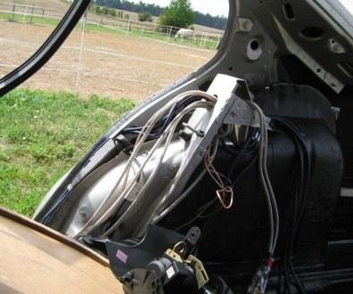 Tlumení kufru vibraflexem Škoda Octavia 23