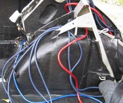 Tlumení kufru vibraflexem Škoda Octavia 29