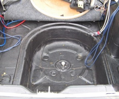 Tlumení kufru vibraflexem Škoda Octavia 34