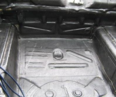 Tlumení kufru vibraflexem Škoda Octavia 35