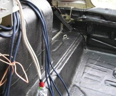 Tlumení kufru vibraflexem Škoda Octavia 37