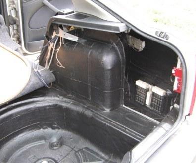 Tlumení kufru vibraflexem Škoda Octavia 43
