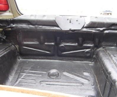 Tlumení kufru vibraflexem Škoda Octavia 47