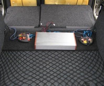 Tlumení kufru vibraflexem Škoda Octavia 52