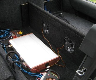 Tlumení kufru vibraflexem Škoda Octavia 54
