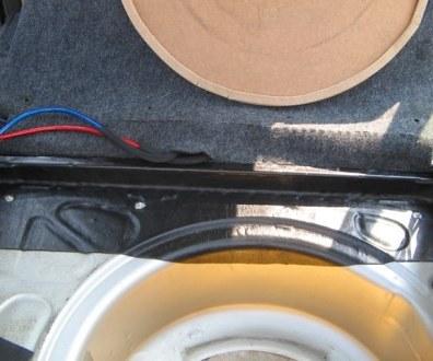 Tlumení kufru vibraflexem Škoda Octavia 6
