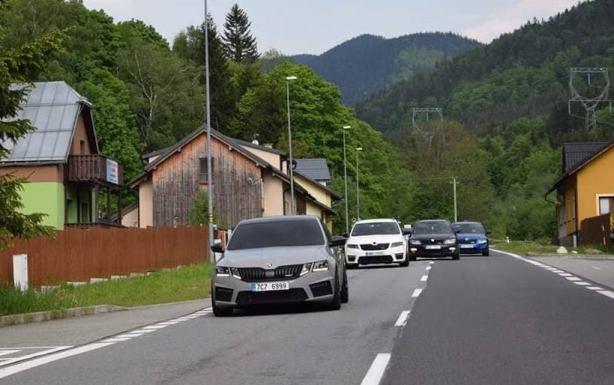 Škoda Octavia sraz přátel VRS