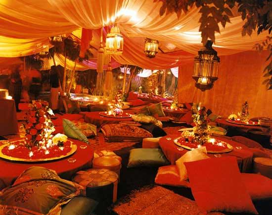Moroccan Wedding Decor Romantic Decoration