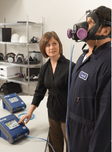 Respirator fit testing is mandatory under AS/NZS1715.  Call OCTIEF on 1800 628 433 to book an onsite fit test