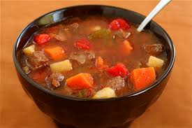 Old-Fashioned Beef Vegetable Soup (1/4)