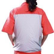 air conditioned jacket unisex back