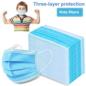 Kids Protective 3Ply Face Mask 50ct Box