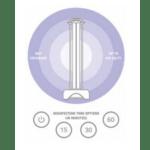 Full Room UV-C Sterilizing Lamp
