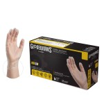 Gloveworks Industrial Grade Clear Vinyl Gloves