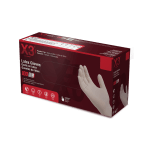 LX3 Industrial Grade Ivory Latex Gloves Case of 5