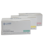 LHM Pink Level 3 Procedure 3-Ply Face Mask