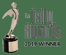 Telly award winner 2019