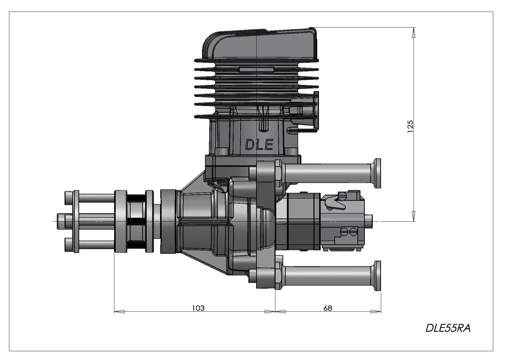 Gas Engines Dle 55ra