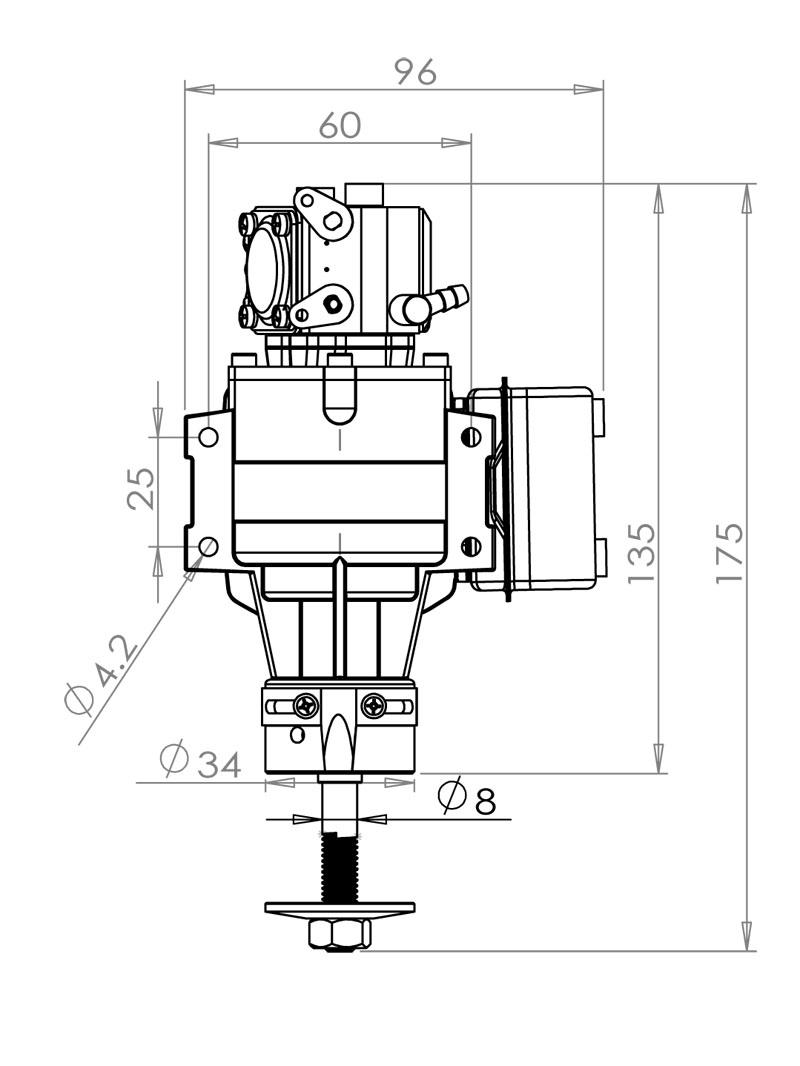 VVRC 20cc Gas Engine