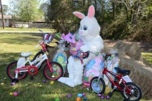 Easter Bunny in Orange Texas
