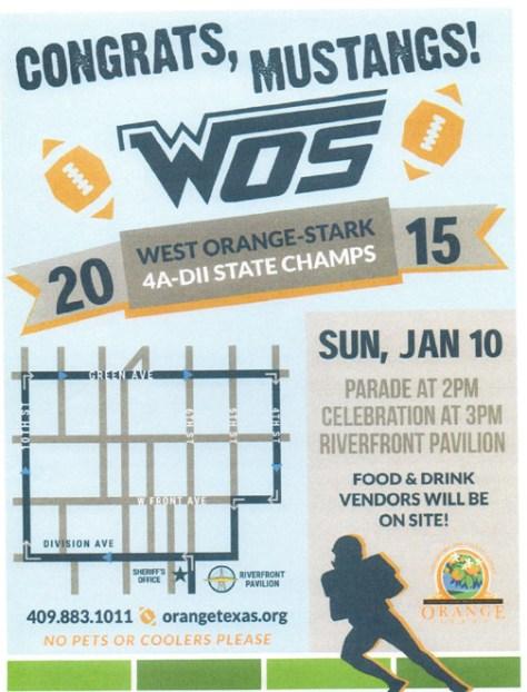 WOS Parade Map