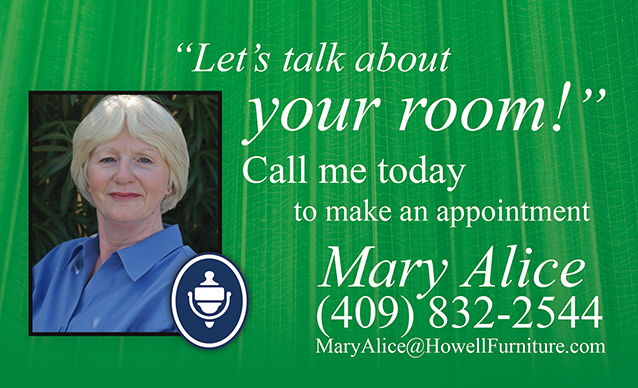 Mary Alice Griffin at Howell Furniture