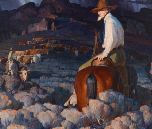 William Henry Dunton, The Cattle Buyer, 1921