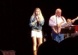 Daelyn Perry on stage at the Jefferson Theater.