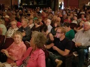 audience at the Charlie Pruitt Country Music Show Reunion