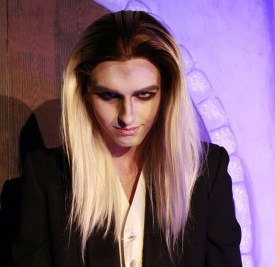 Bryan Buzbee as Riff Raff in Rocking Horror Show.