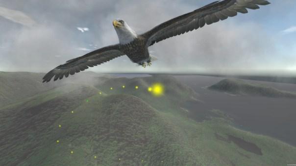 Aquila Bird Flight Simulator game screenshot courtesy Steam