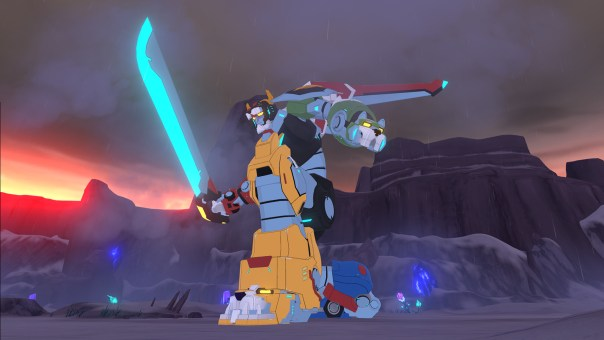DreamWorks Voltron VR Chronicles game screenshot courtesy Steam