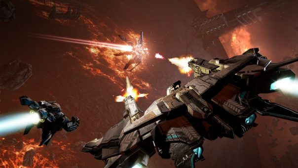 EVE: Valkyrie - Warzone game screenshot courtesy Steam