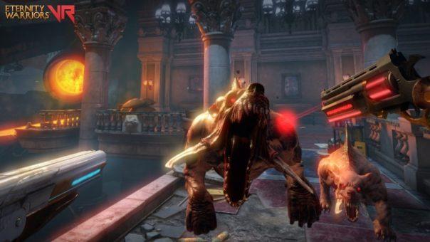 Eternity Warriors VR game screenshot courtesy Steam