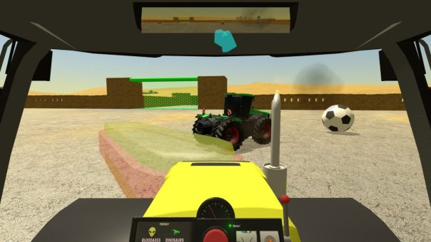 Tractorball game screenshot courtesy Steam