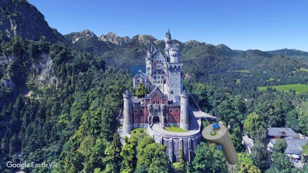 Google Earth VR - screenshot courtesy Steam