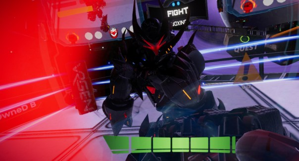 Mech League Boxing game screenshot courtesy Steam