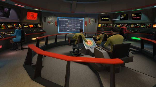 Star Trek Bridge Simulator game screenshot courtesy Steam