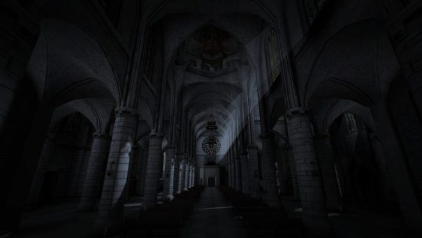 The Cathedral: Allison's Diary - screenshot courtesy Steam
