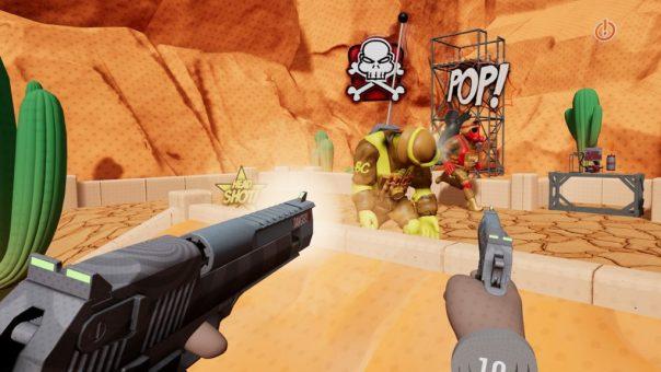 The Steadfast VR Challenge - screenshot courtesy Steam