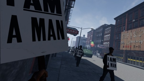 I Am a Man - screenshot courtesy Oculus