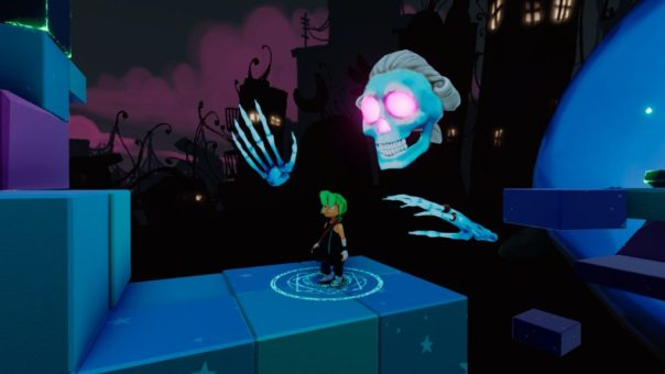 Carly and the Reaperman game screenshot courtesy Steam