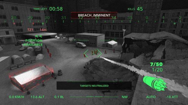 Zombie Gunship Raptor - screenshot courtesy Oculus