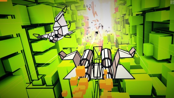 Voxel Fly game screenshot courtesy Oculus