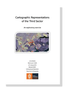 Cartographic Representations front cover