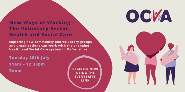 Details Of New Ways Of Working - The Voluntary Sector, Health and Social Care