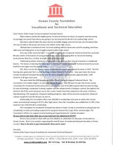 Alumni campaign Letter